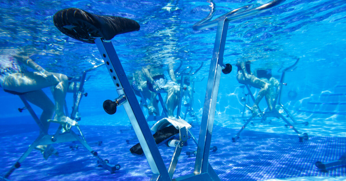 EXERCISE TIPS TO WORKOUT ON YOUR AQUA BIKE
